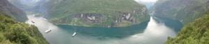 Der Geiranger Fjord