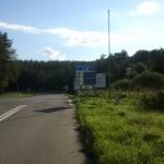 Grenze zur Slowakei - kein Mensch und ohne Schranke