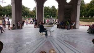 Musik in München... in toller Kulisse.