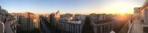 Panorama über Thessaloniki